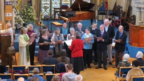 Salisbury URC choir -- by Hugh Abel