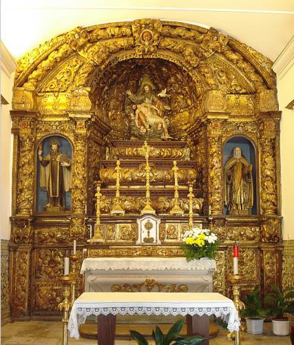 12. Altar in pilgrimage church of Nossa Senhoria dos Remedios, Lamego, Portugal