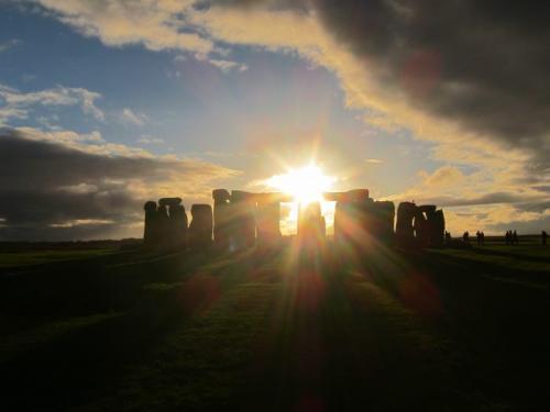 45. Stonehenge kaleidescope