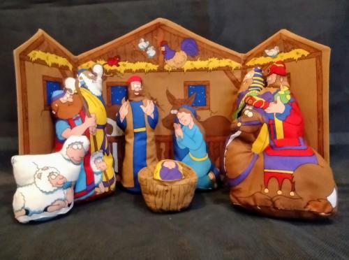 Cloth nativity for children - Roger Harrison