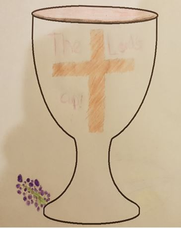 Communion chalice - by Ashley