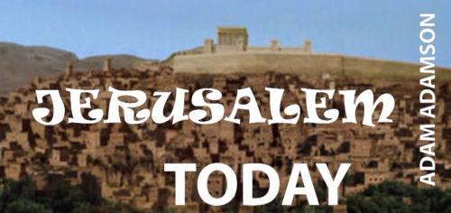 Jerusalem Today title