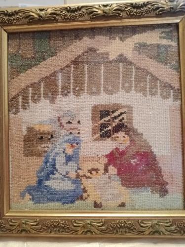 Nativity cross-stitch by Nicky Hanc & Elaine Harrison