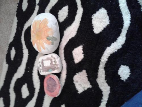 Stone art - Ashley & Ryan