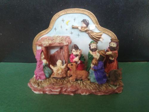 Cake top nativity, Hanc