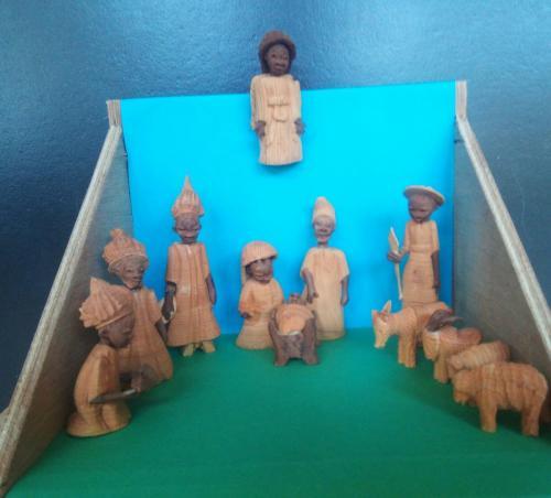 Nigerian nativity, Elaine Harrison