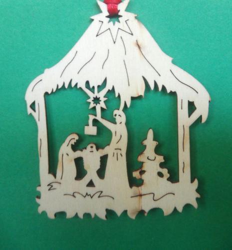 Polish fret nativity, Elaine Harrison